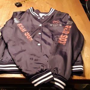 VICTORIAS SECRET PINK Red Sox Jacket size L